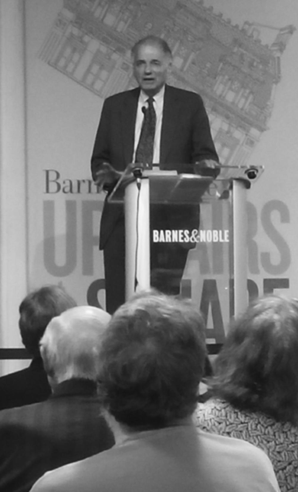 Auch mit 80 noch bereit zum Gefecht gegen den Corporate State: Ralph Nader