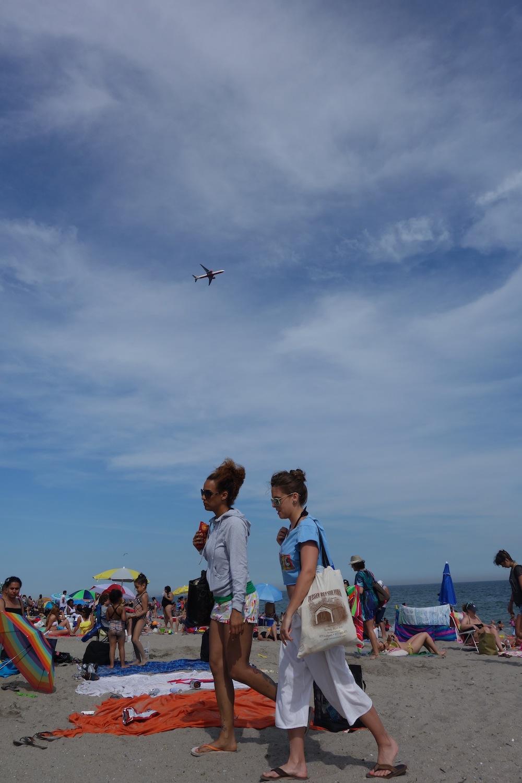 Rockaway Beach plane