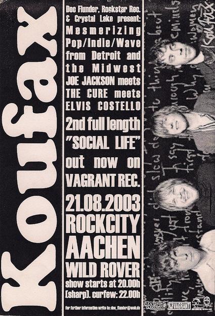 Koufax Flyer (original)