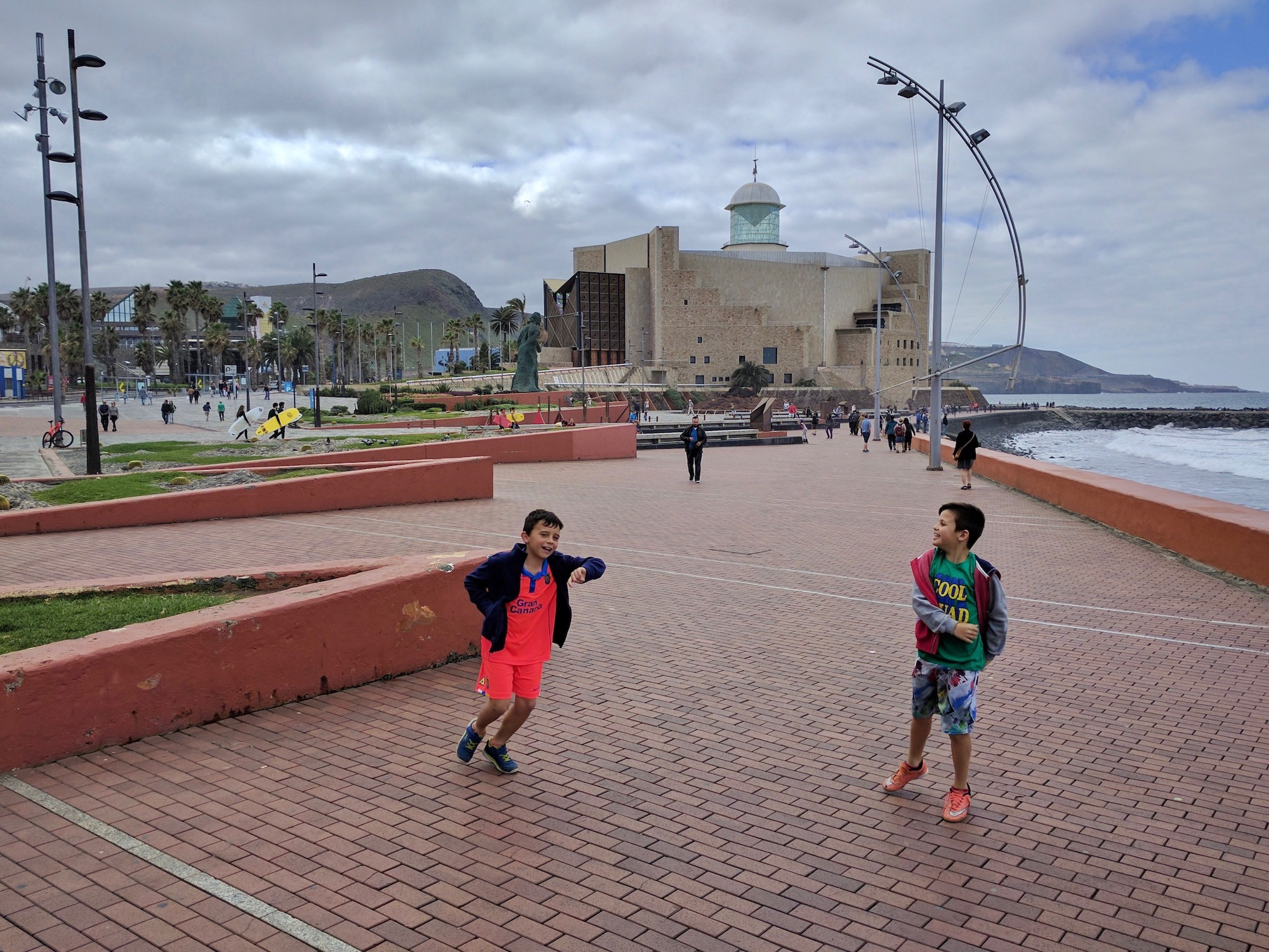 Strandpromenade von Las Palmas, GC