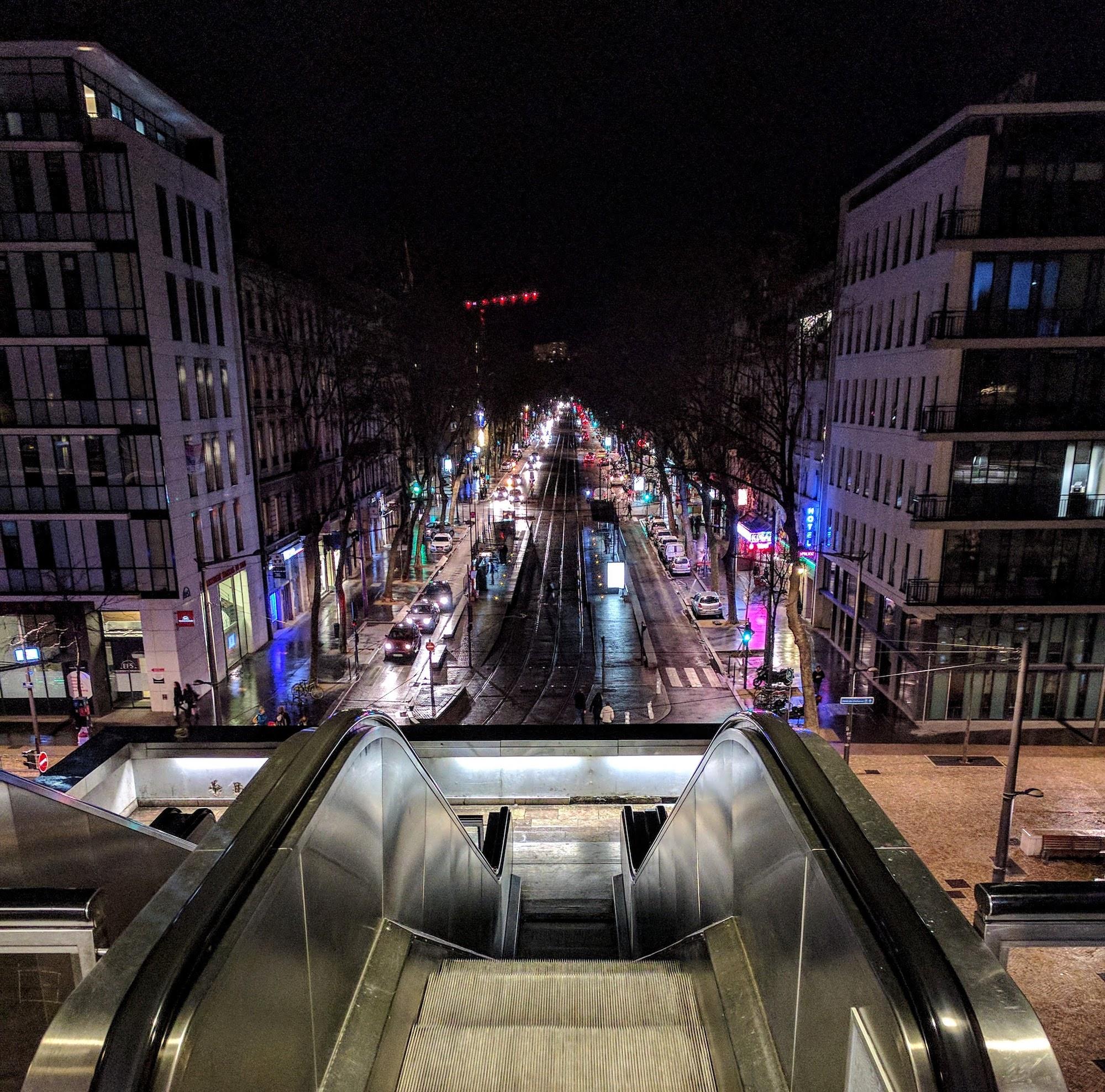 Blick auf Confluence, Lyon