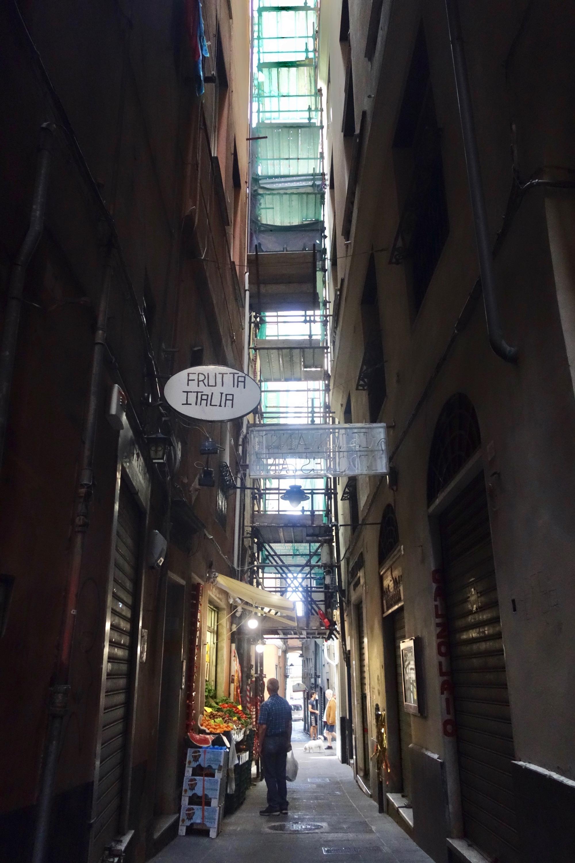 Genua, Altstadt