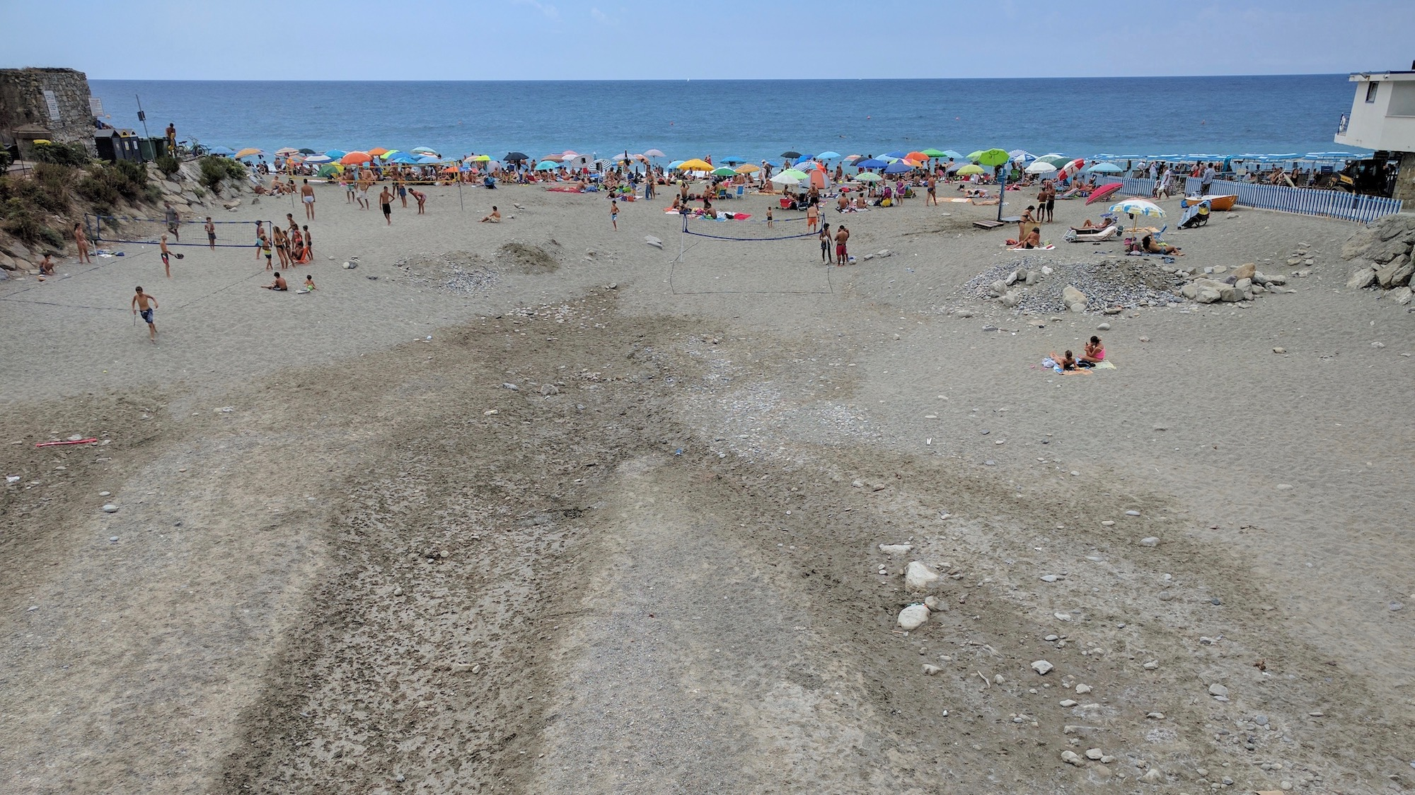 Strand, Deiva Marina, Ligurien