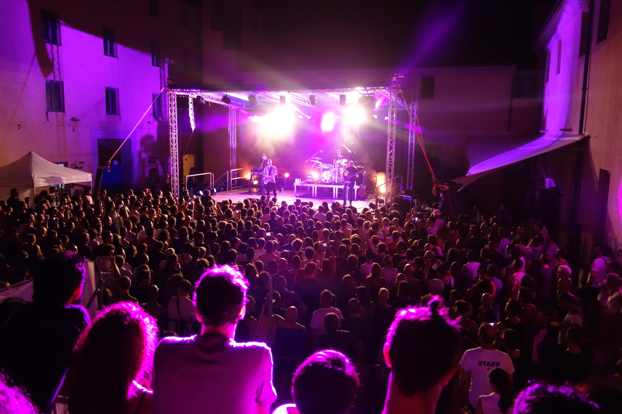 White Lies, live in Sestri Levante, Ligurien