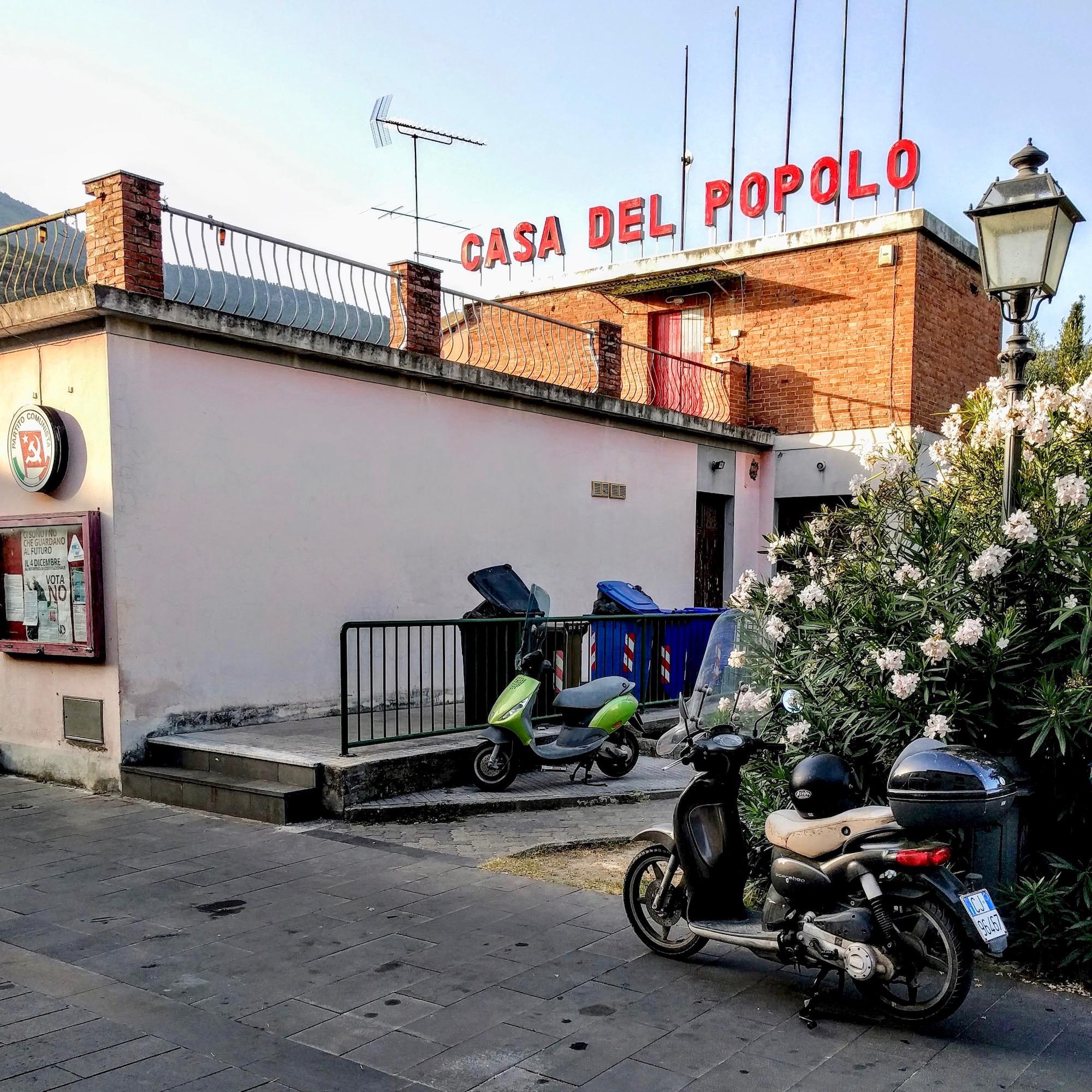 Casa del Popolo, Calci, Toskana