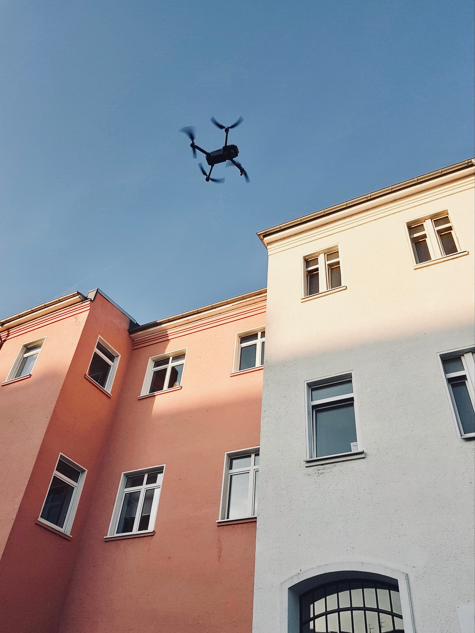 Drohne in Düsseldorf