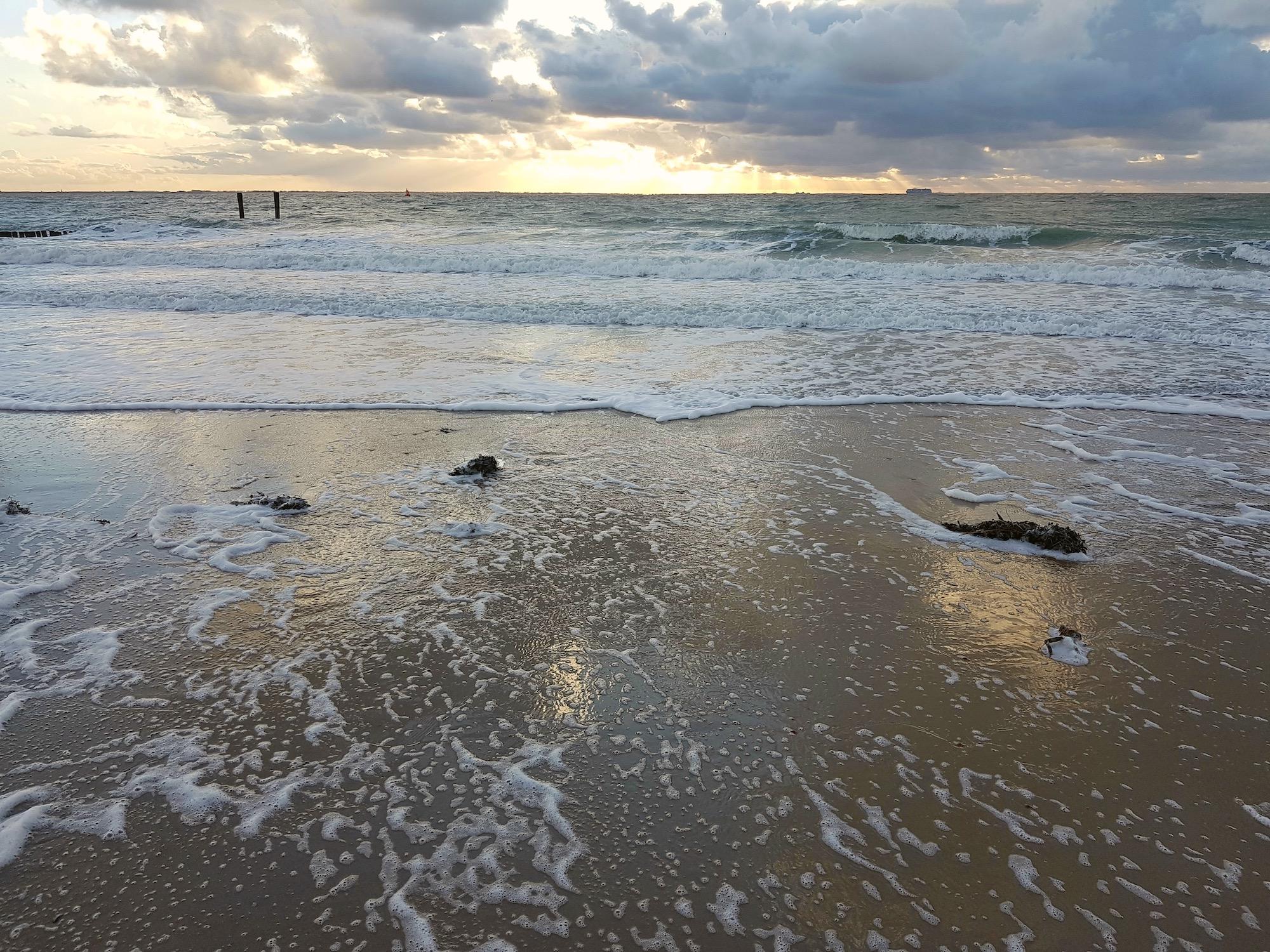 Das Meer bei Vlissingen